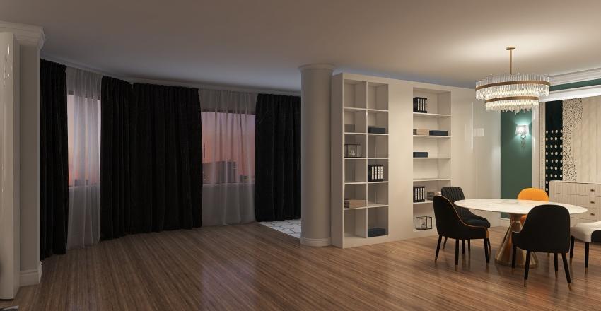 СОЧИ Пентхаус 1.1 Interior Design Render