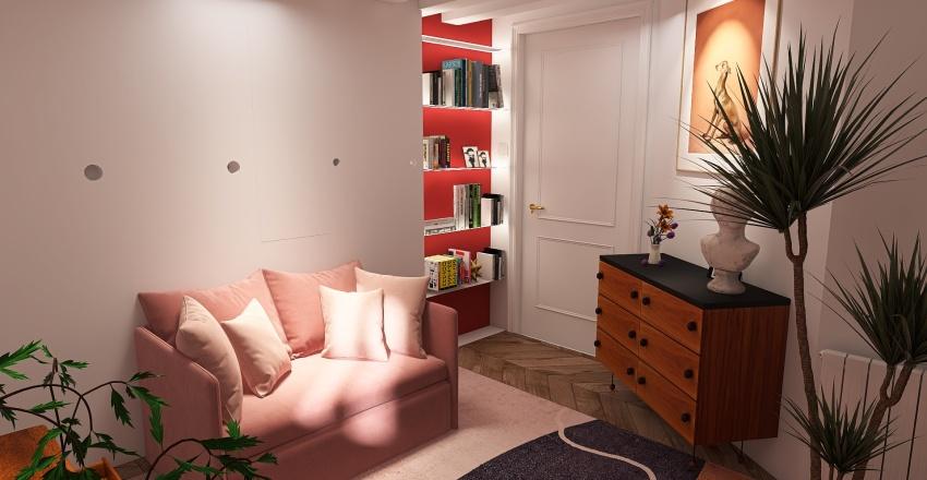 Derniers Plans Miromesnil Interior Design Render