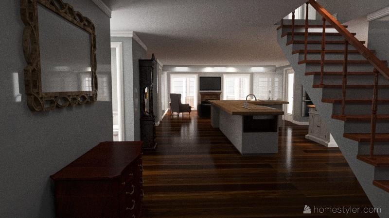 Renovation Interior Design Render
