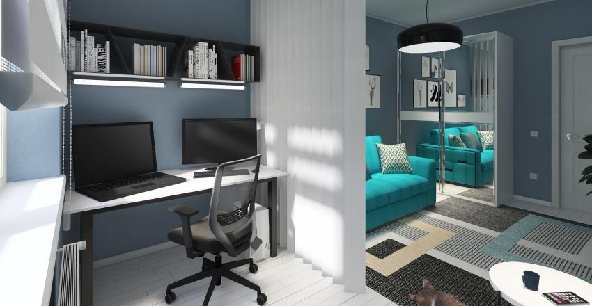 мой первый проект Interior Design Render