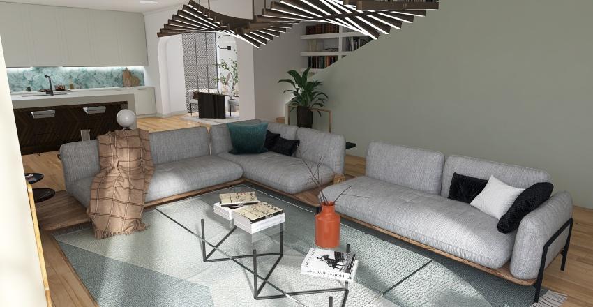 Mega-City Home Interior Design Render