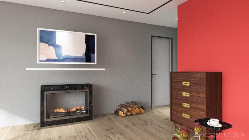 La Mongie Ainhoa Interior Design Render