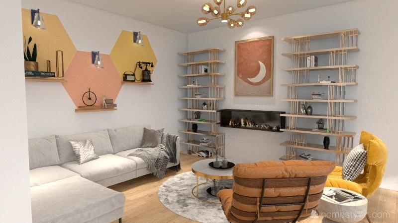 peace Interior Design Render