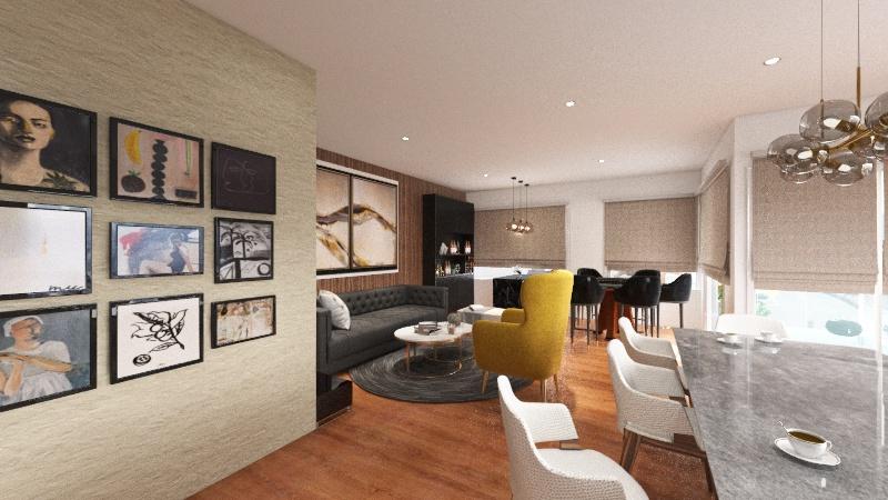 Monte Gramians Interior Design Render