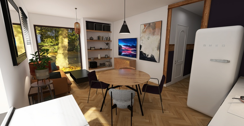 Copy of Apartment Interior Design Render