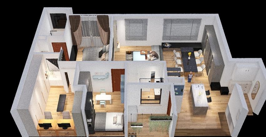 Jimmy2J Interior Design Render
