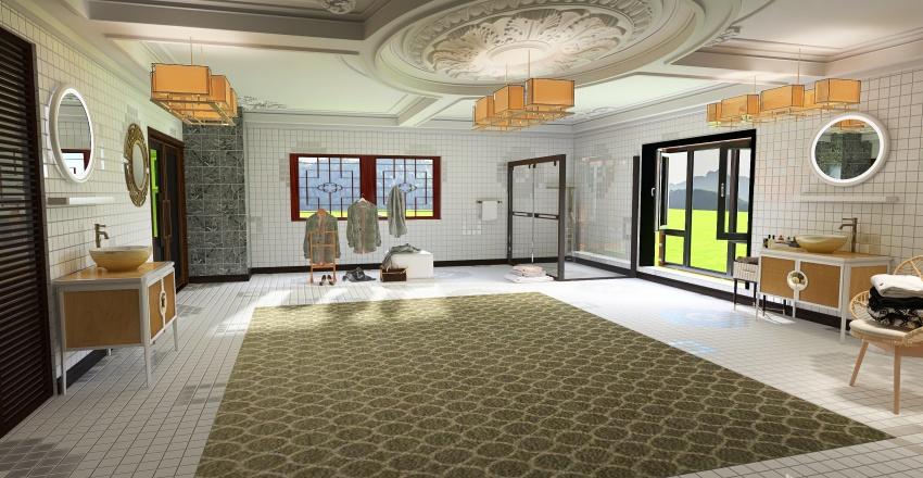 HOME CKOCKO GIARO CAVALLI Interior Design Render