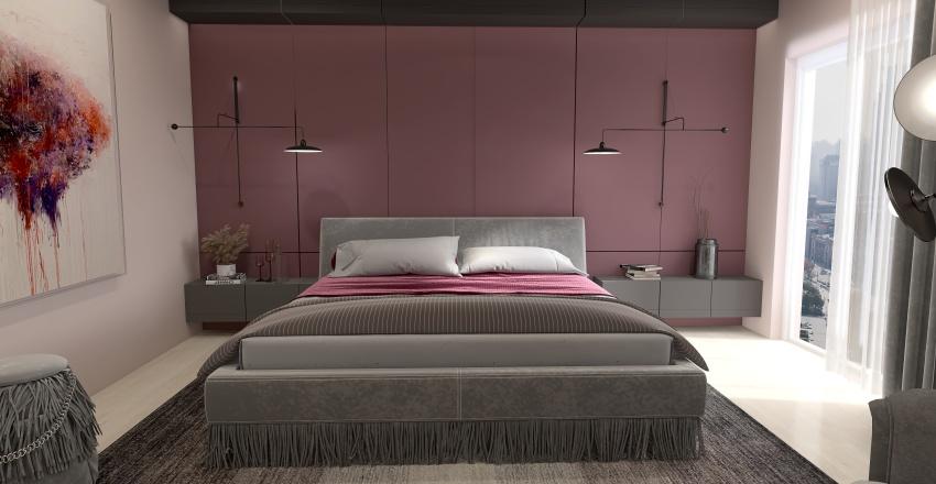 Apartamento Guinda Interior Design Render