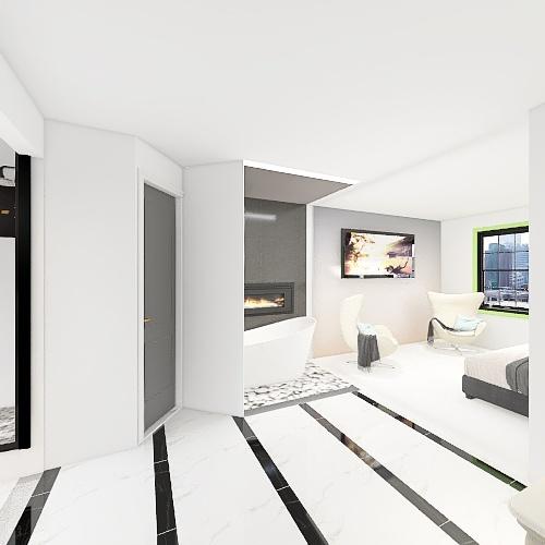 Master Bath FLIP 3 Interior Design Render