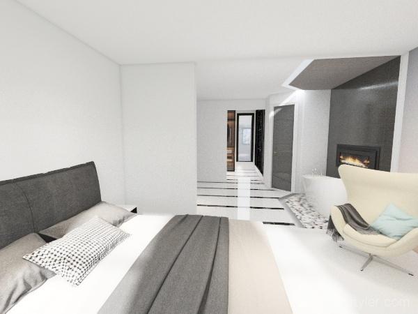 Master Bath FLIP Interior Design Render