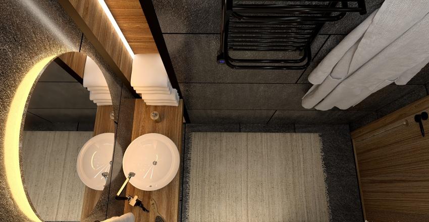 loft style_ 2 floor appartment Interior Design Render