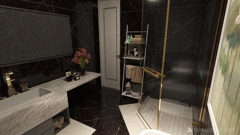 Appartamento a New York Interior Design Render