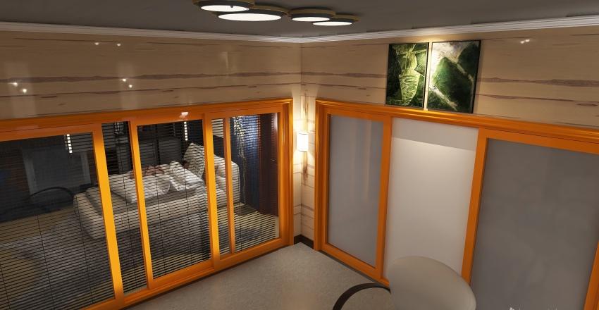 mini house frozen place Interior Design Render