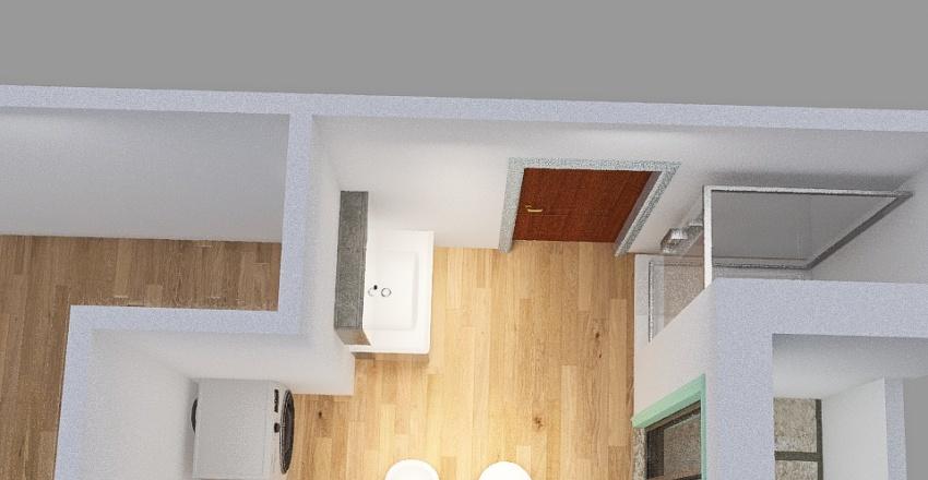 vs3_bagno e cabina_ lavello spostata Interior Design Render