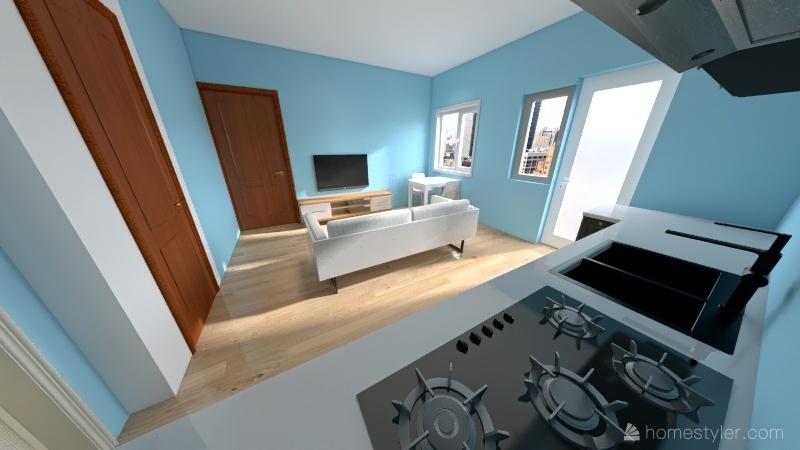 batumi 40 m Interior Design Render
