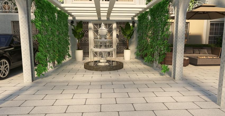 The mega mansion Interior Design Render