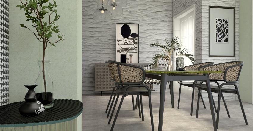Softly Summer Interior Design Render