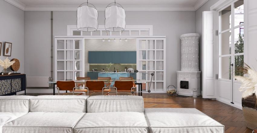 [ NO ORDINARY APARTMENT ] Interior Design Render