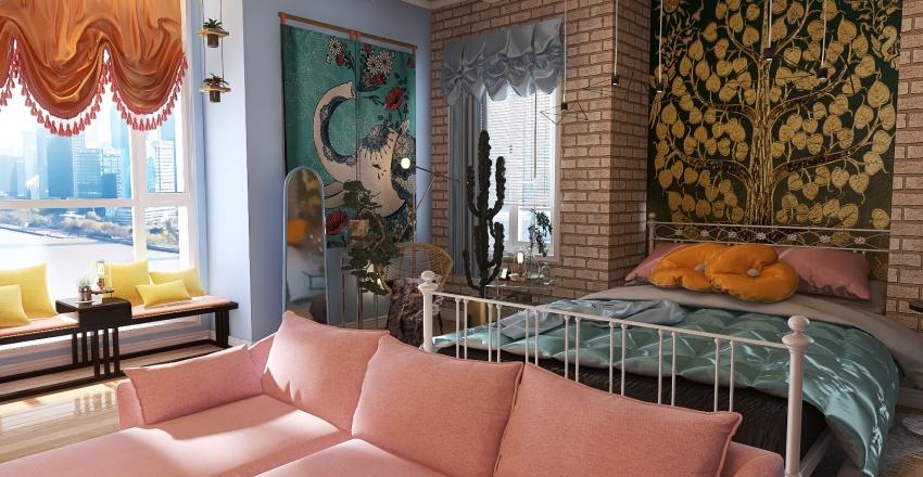 Lainey's Dream Room Interior Design Render