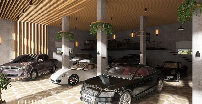 Car Gallery 1 Interior Design Render
