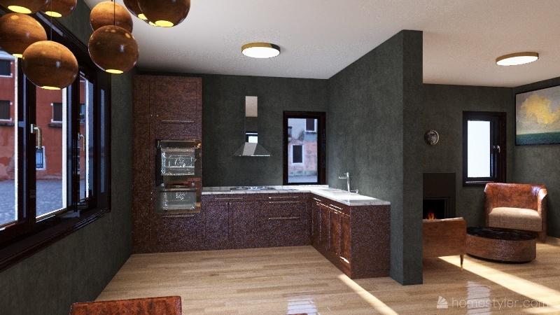 Casa Uno Interior Design Render