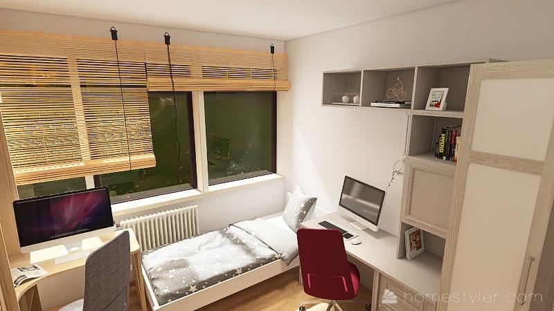 Copy of Copy of Anja i Bogi soba 4 Interior Design Render
