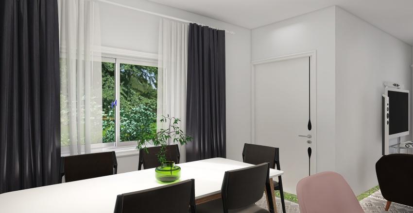 PROJETO CASA TERRENO 10X20 Interior Design Render