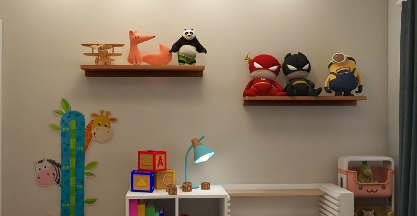 Copy of Quarto Infantil Interior Design Render