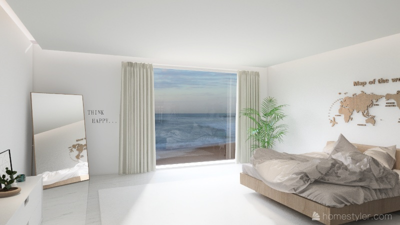 Quarto 1 Interior Design Render
