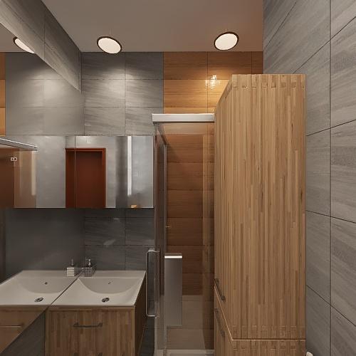 Copy of Lazienka-29-08-21-skrocona Interior Design Render