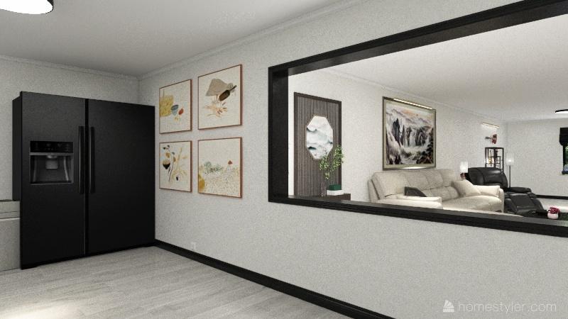 Maplewood Avenue Interior Design Render