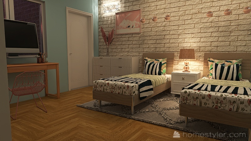 via provinciale pisana Interior Design Render