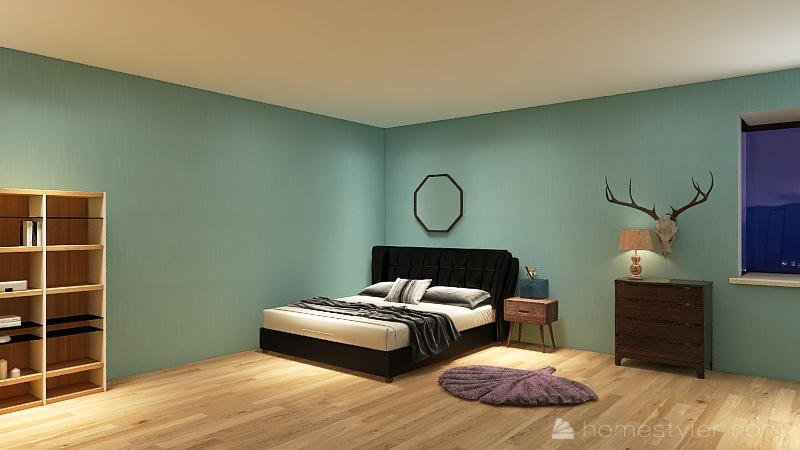 Nora, Ada, and Makena's home 2021 Interior Design Render