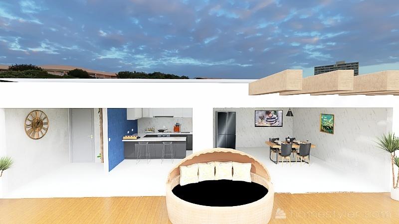 Copy of área gourmet Interior Design Render