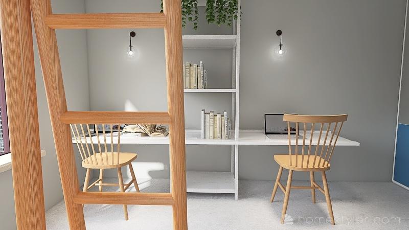''KIDS'' SIDE. Interior Design Render