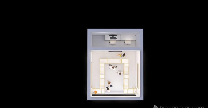 Joyeria sol de oro Interior Design Render