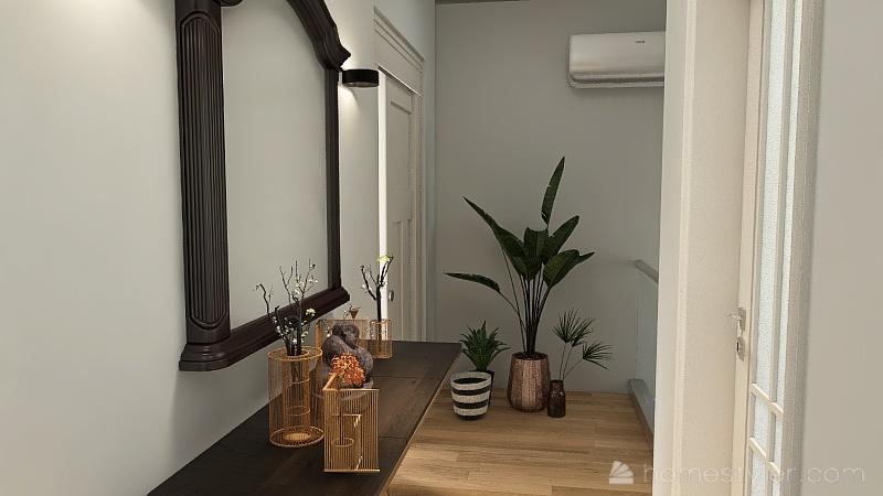 casa a due piani Interior Design Render