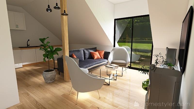 Copy of dom2021 -przesuniety dół 5 stodola Interior Design Render