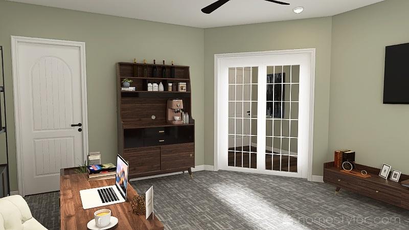 Basement 1 Interior Design Render