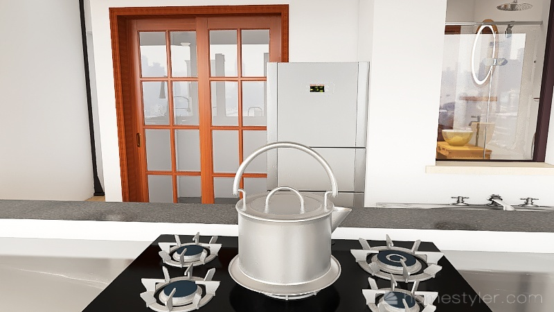 pós Tati_Roça Bonita Tamanho Certo_Escritório melhor Interior Design Render