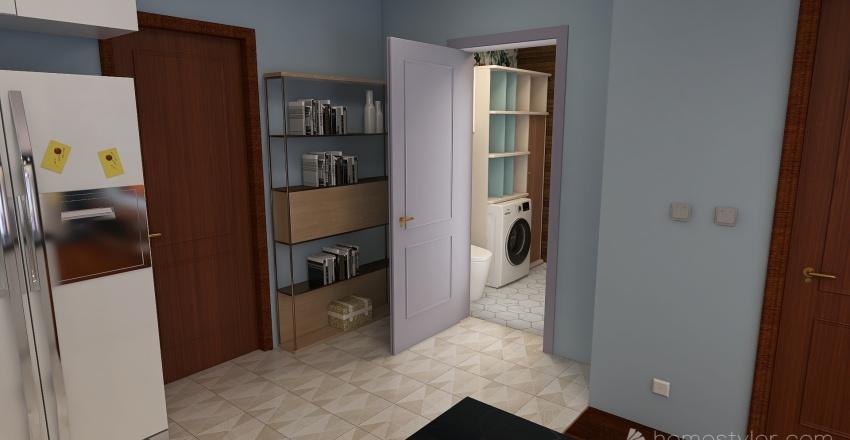 Mieszkanie Wróblewskiego Interior Design Render