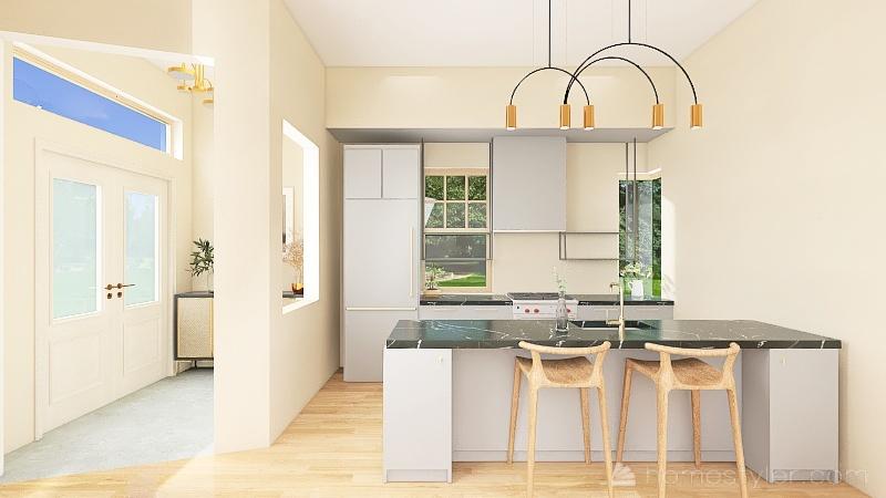 Summer Resident Interior Design Render