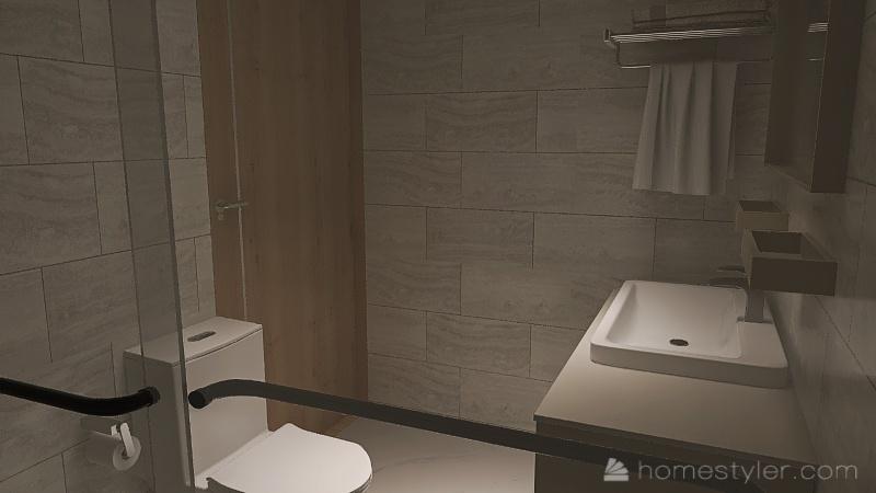 habitación de hotel 1000 pesos Interior Design Render