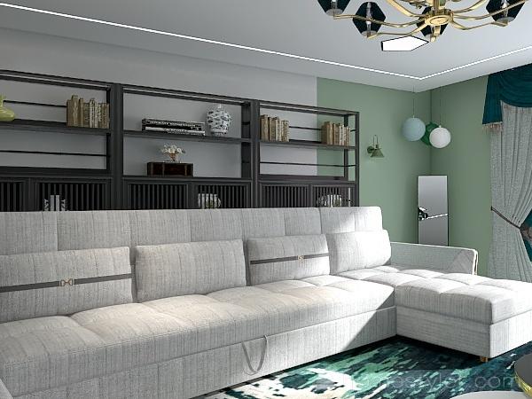 Kijani Interior Design Render