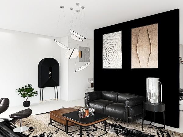 Bauhaus Interior Design Render
