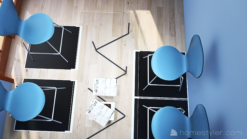 Small safe fun Interior Design Render