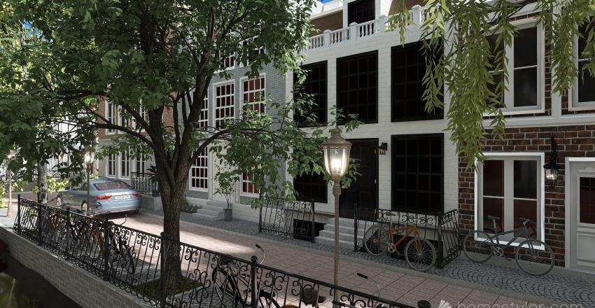 Minha Amsterdam Interior Design Render