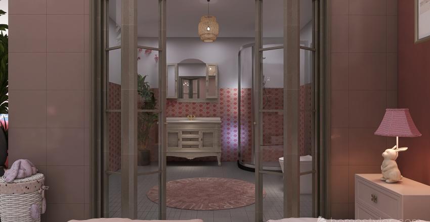 Modern Çizgiler Interior Design Render