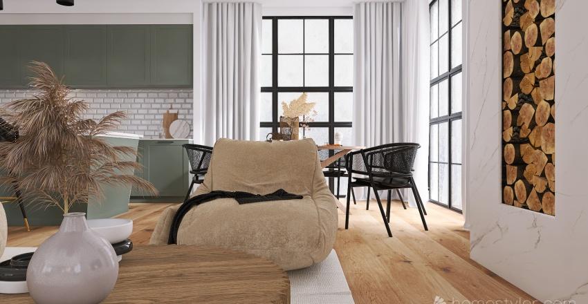 Green Paradise Interior Design Render