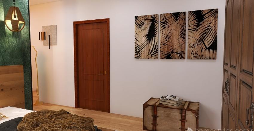 maison dans la nature Interior Design Render